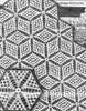 Crochet Bedspread Pattern, Star Medallion, Mail Order 3035