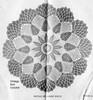 Crocheted Leaf Doily Illustration, Mail Order 803