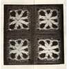 Crocheted Granny Squares Illustration for childs' jacket Design 848