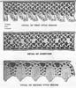 Irish Crochet Edgings Illustration for Alice Brooks 7248