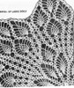 Centerpiece Doily Pattern Illustration, Design 619