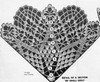 Crochet Pattern Stitch Illustration small spiderweb doily