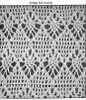 Crochet Top Pattern Stitch Illustration, Laura Wheeler 666