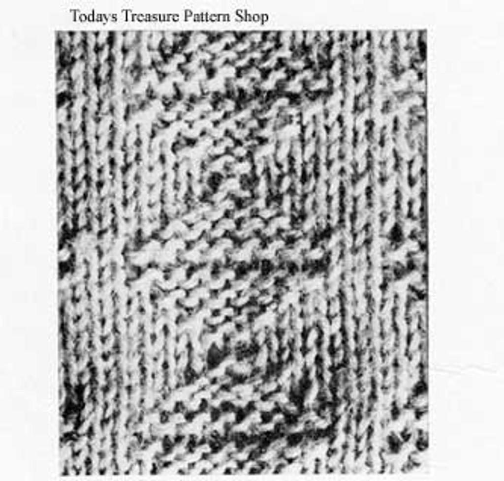 Boys Sweater Knit Pattern Stitch
