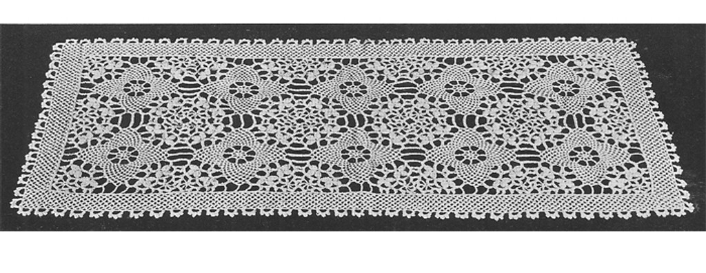 Armenian Lace Crochet Runner Pattern