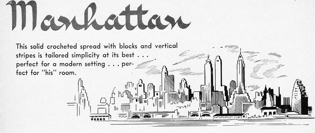 Manhattan Illustration in Pattern Book