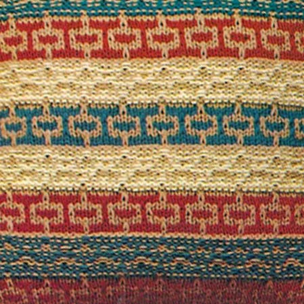 Reverse Stripe Pillow Knitting Pattern