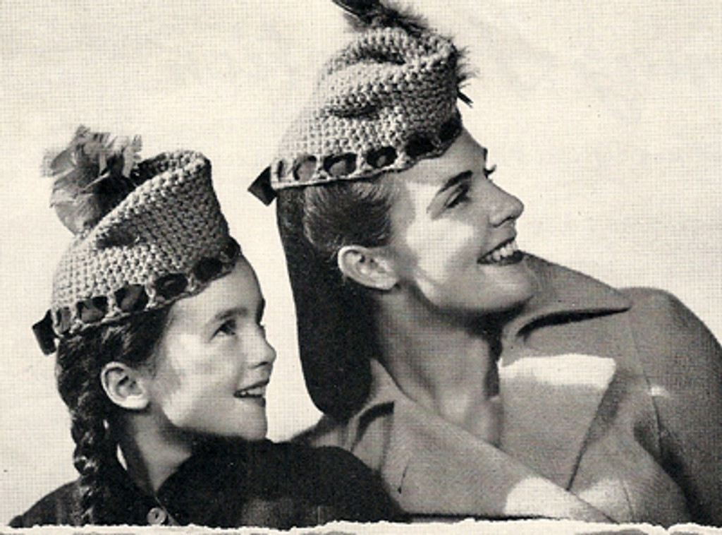 Scotch Hats Crochet Pattern
