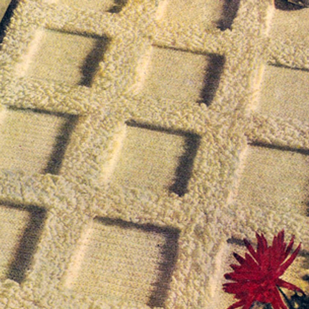 Vintage Tufted Crochet Rug Pattern