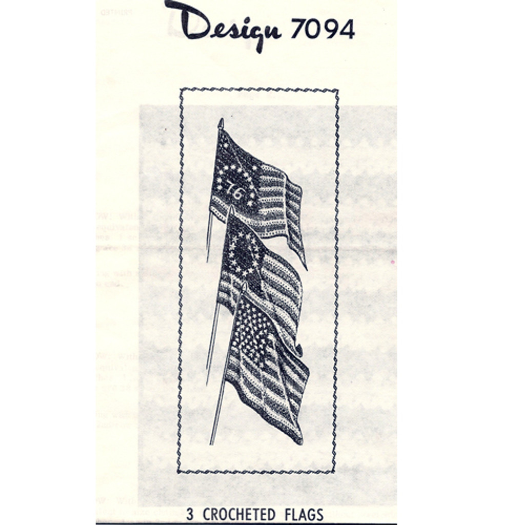 American Flags Crochet Pattern