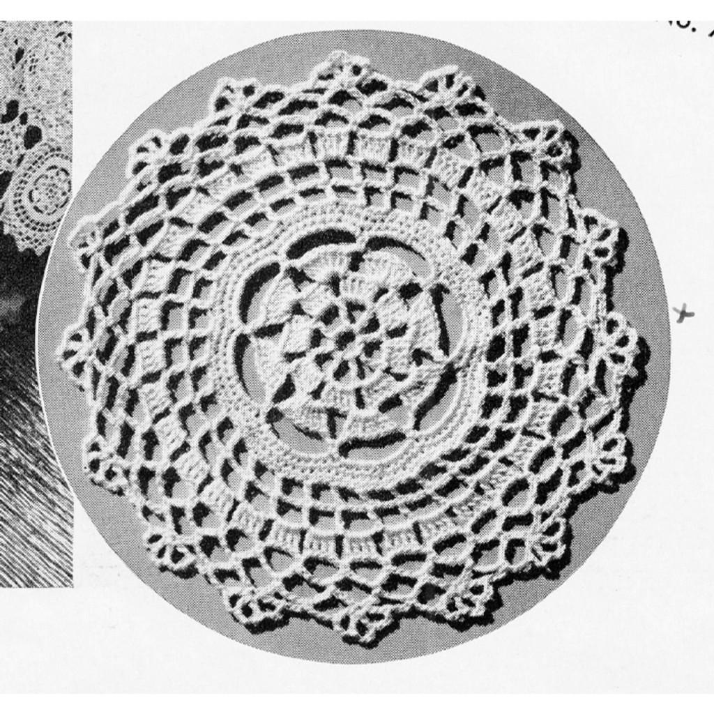 Crochet Summer Sun Medallion Pattern