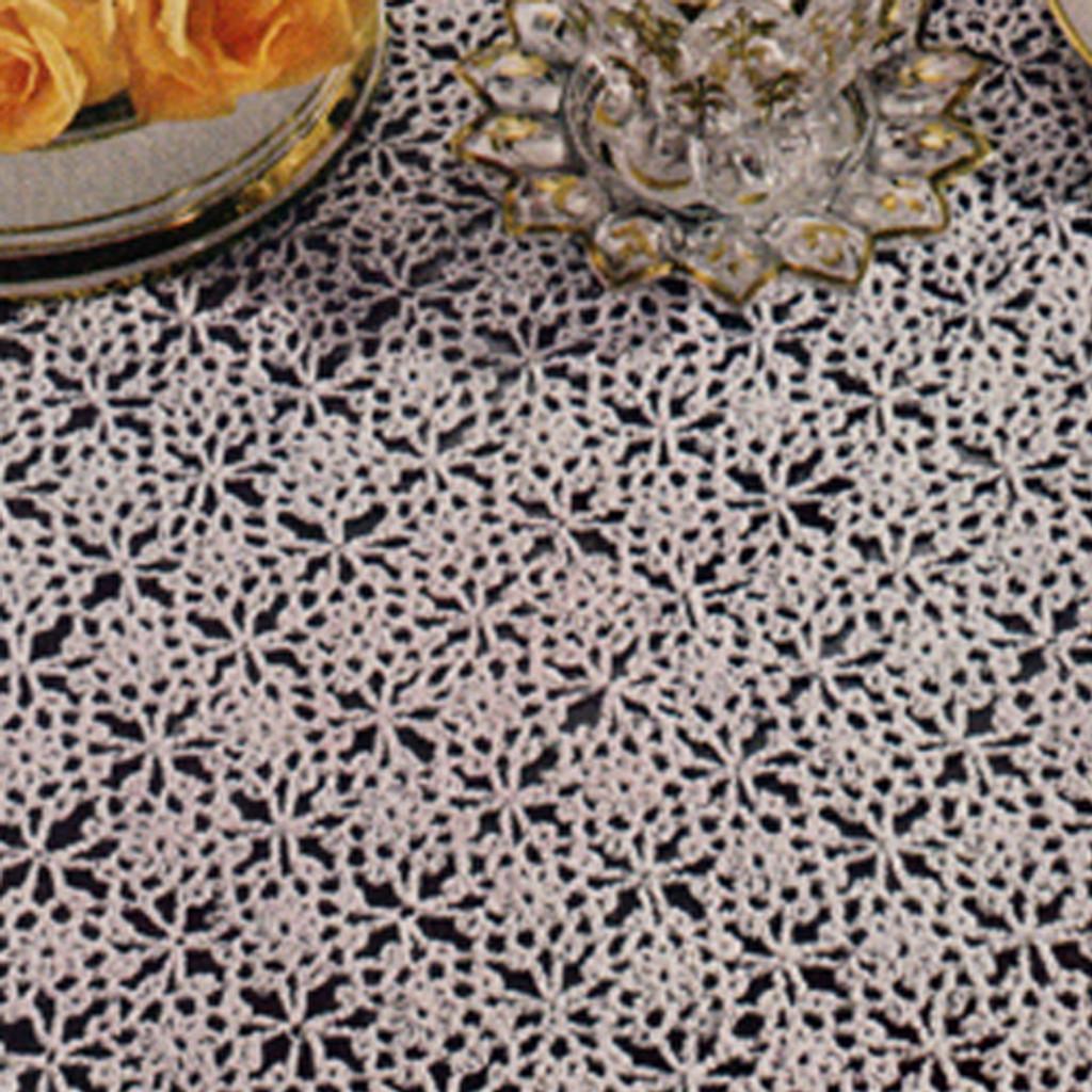 Vintage Spangled Crochet Tablecloth Pattern, Vintage 1960s