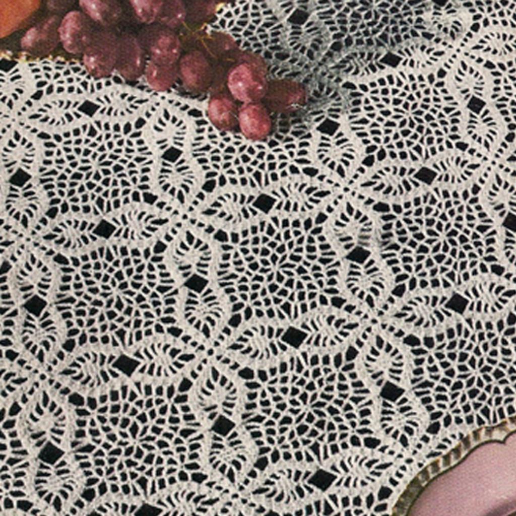 Vintage Puritan Crochet Tablecloth Pattern