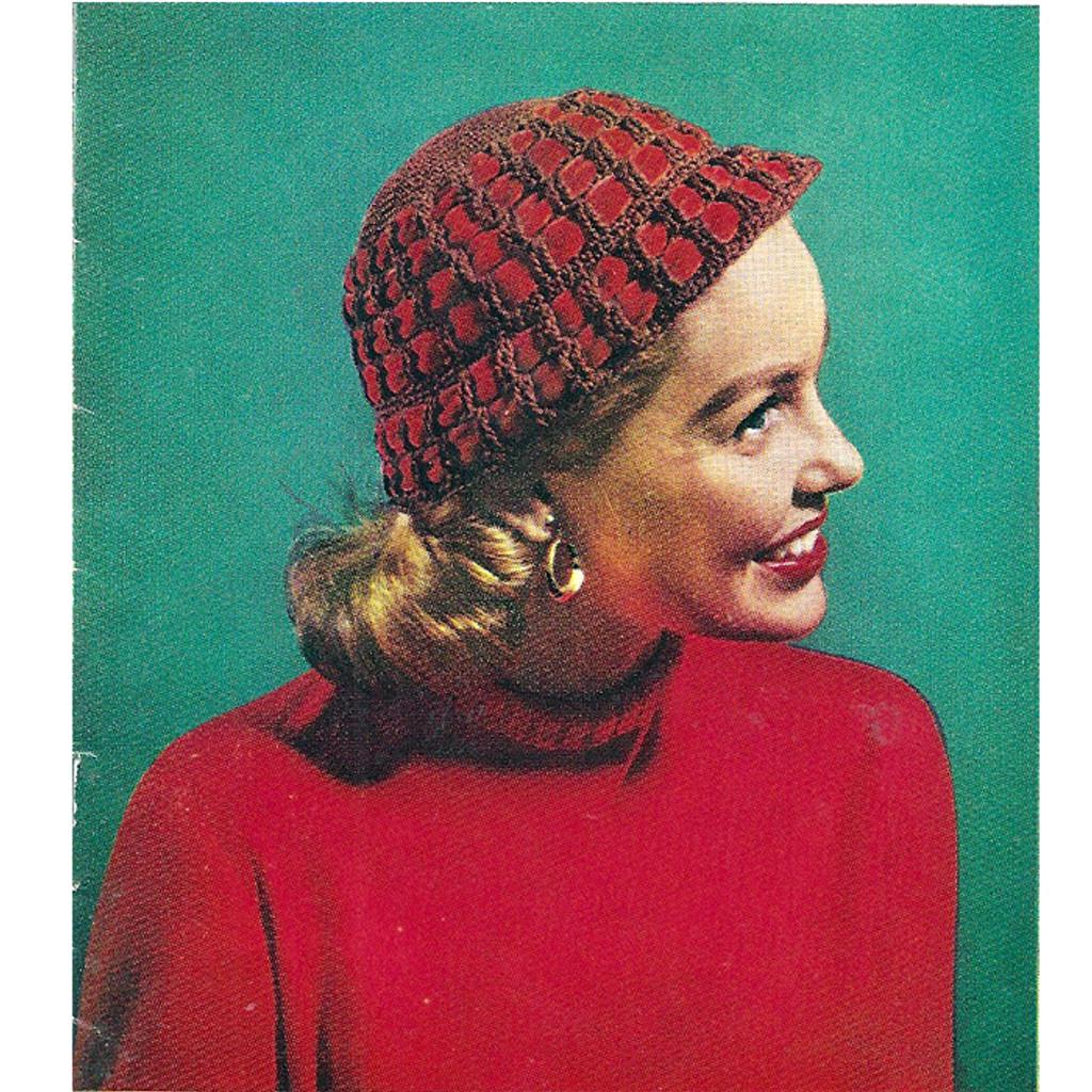 Beginners Crochet Cloche Hat Pattern With Ribbon Trim S 451