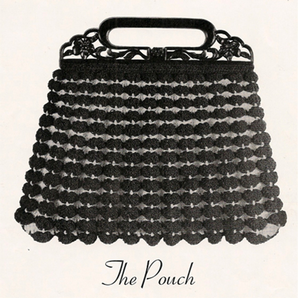 Vintage Shell Handbag Crochet Pattern