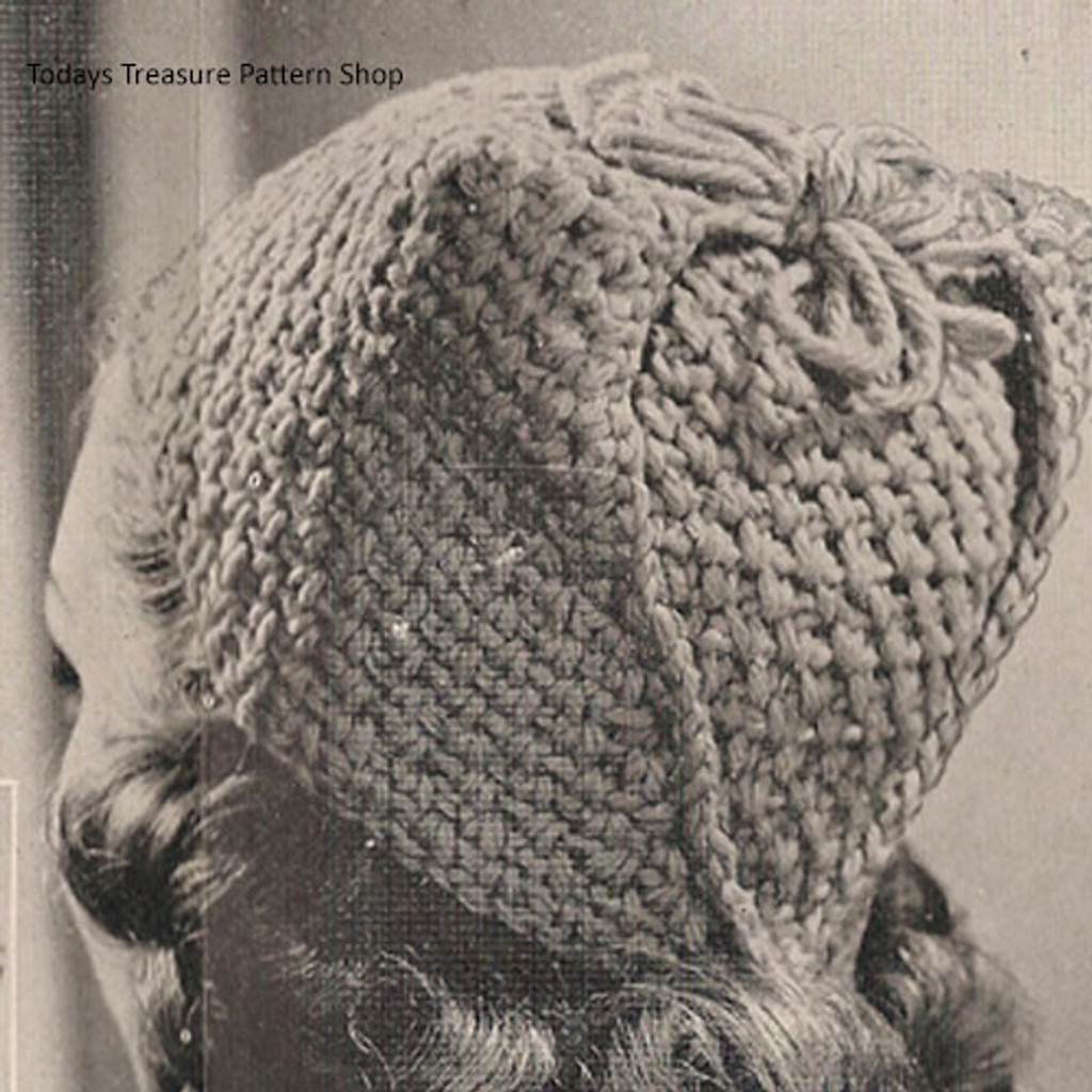 Red Wing Crochet Toque Pattern