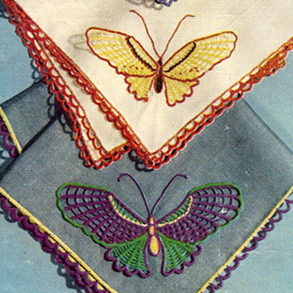 Vintage Crochet Edging Pattern