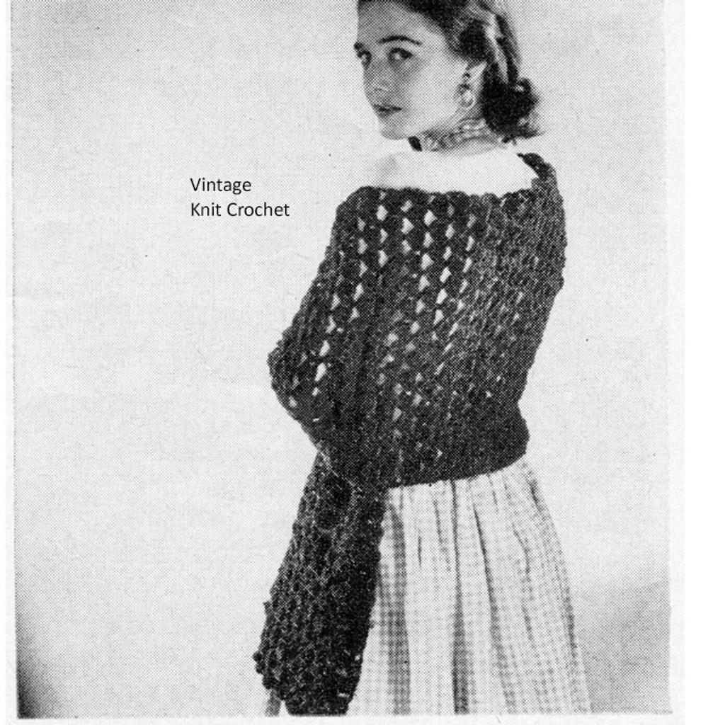 Beginners Crochet Stole Pattern