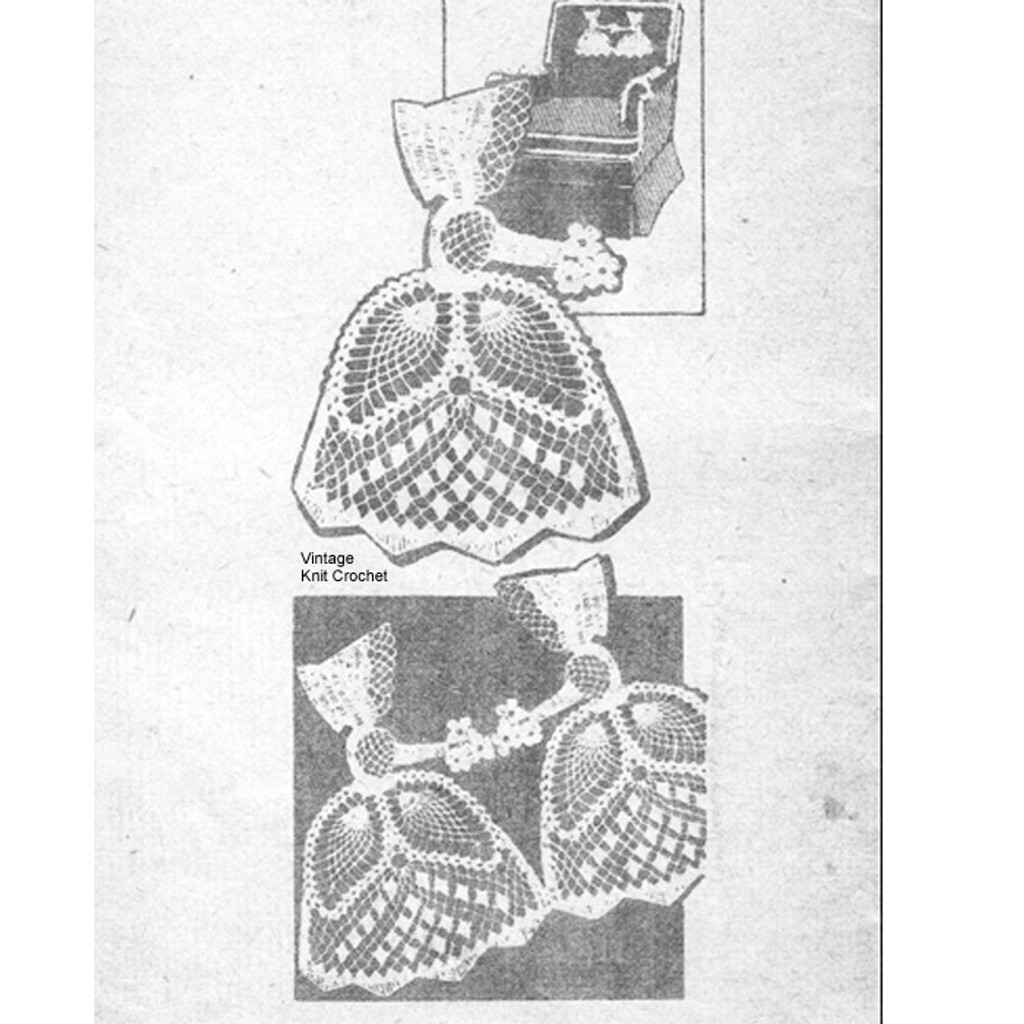 Old Fashioned Girl Crochet Pattern, Design 7387