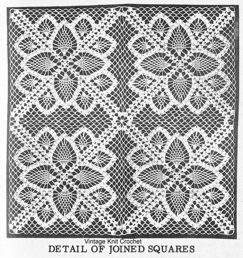 Crochet Pineapple Tablecloth Pattern Illustration, Laura wheeler 509