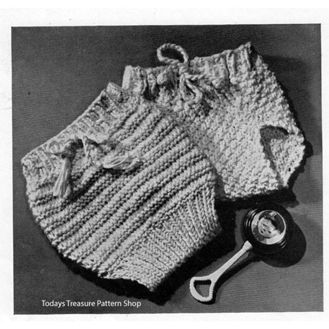 Knitted Baby Soakers Pattern