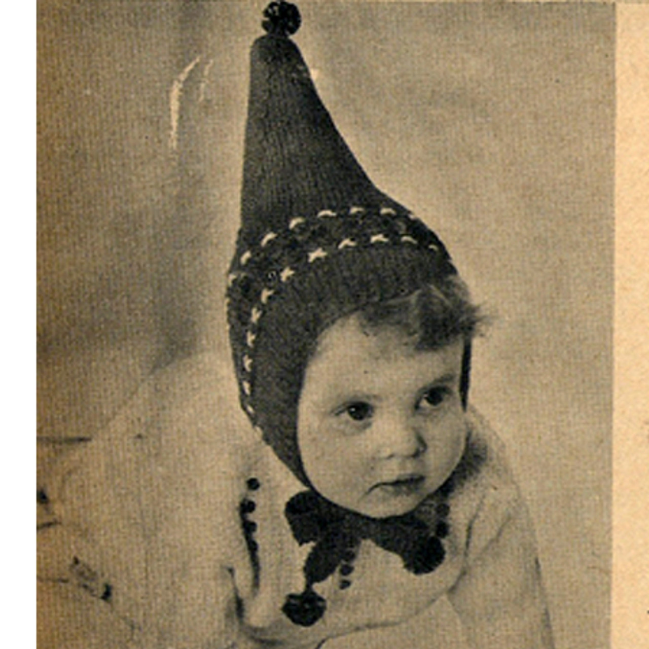 Childs Knitted Pixie Hat Pattern