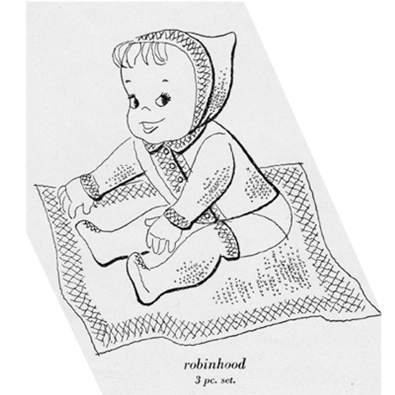 Knitted Baby Jacket Pattern with Pixie Hood