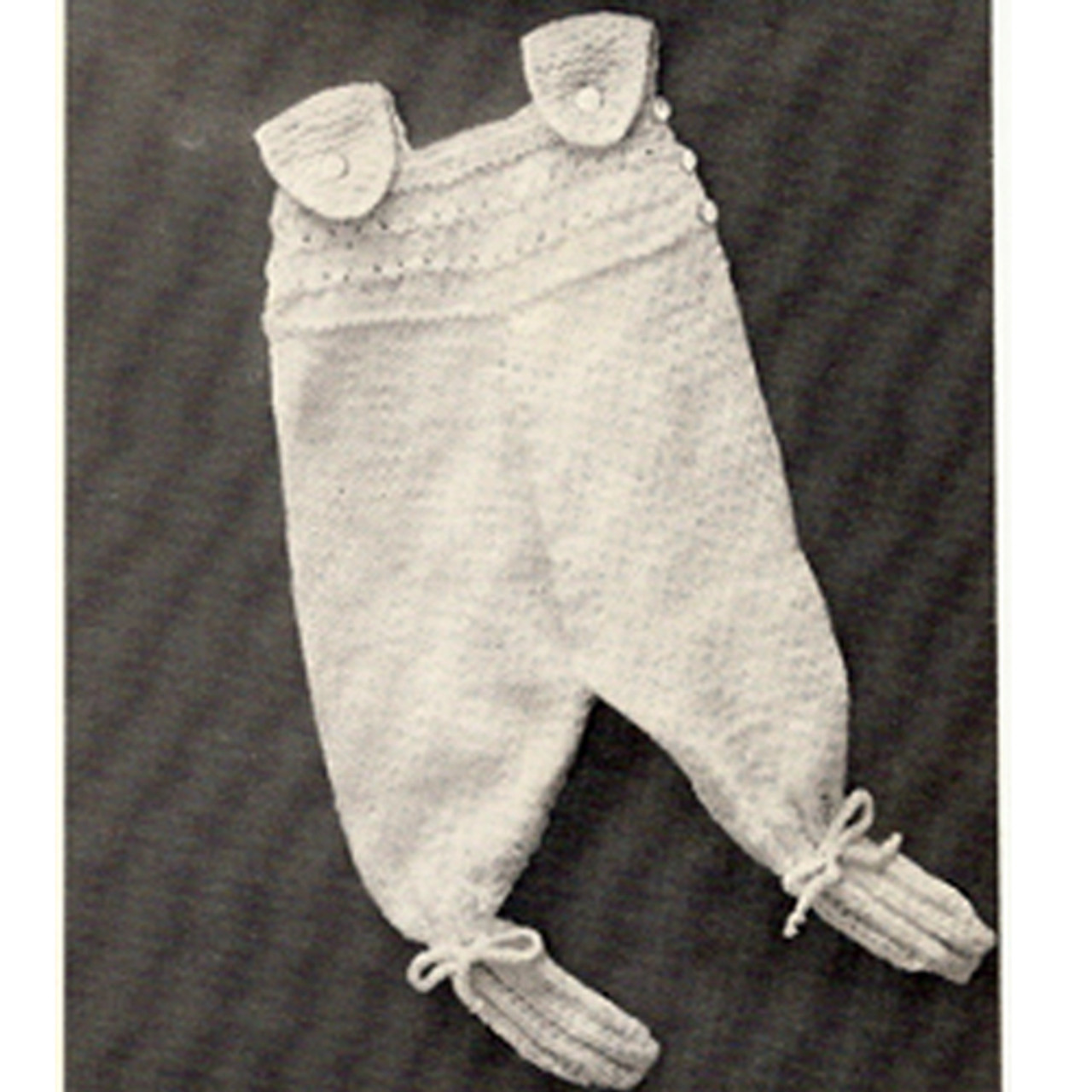 Knit Leggings for Baby