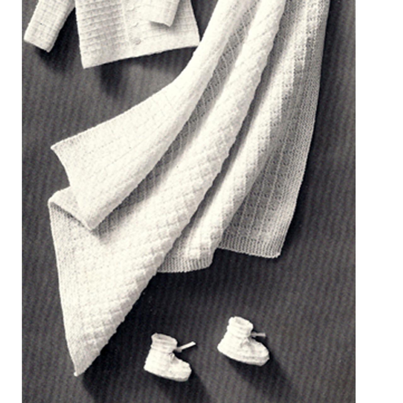 Easy Baby Blanket Knitting Pattern