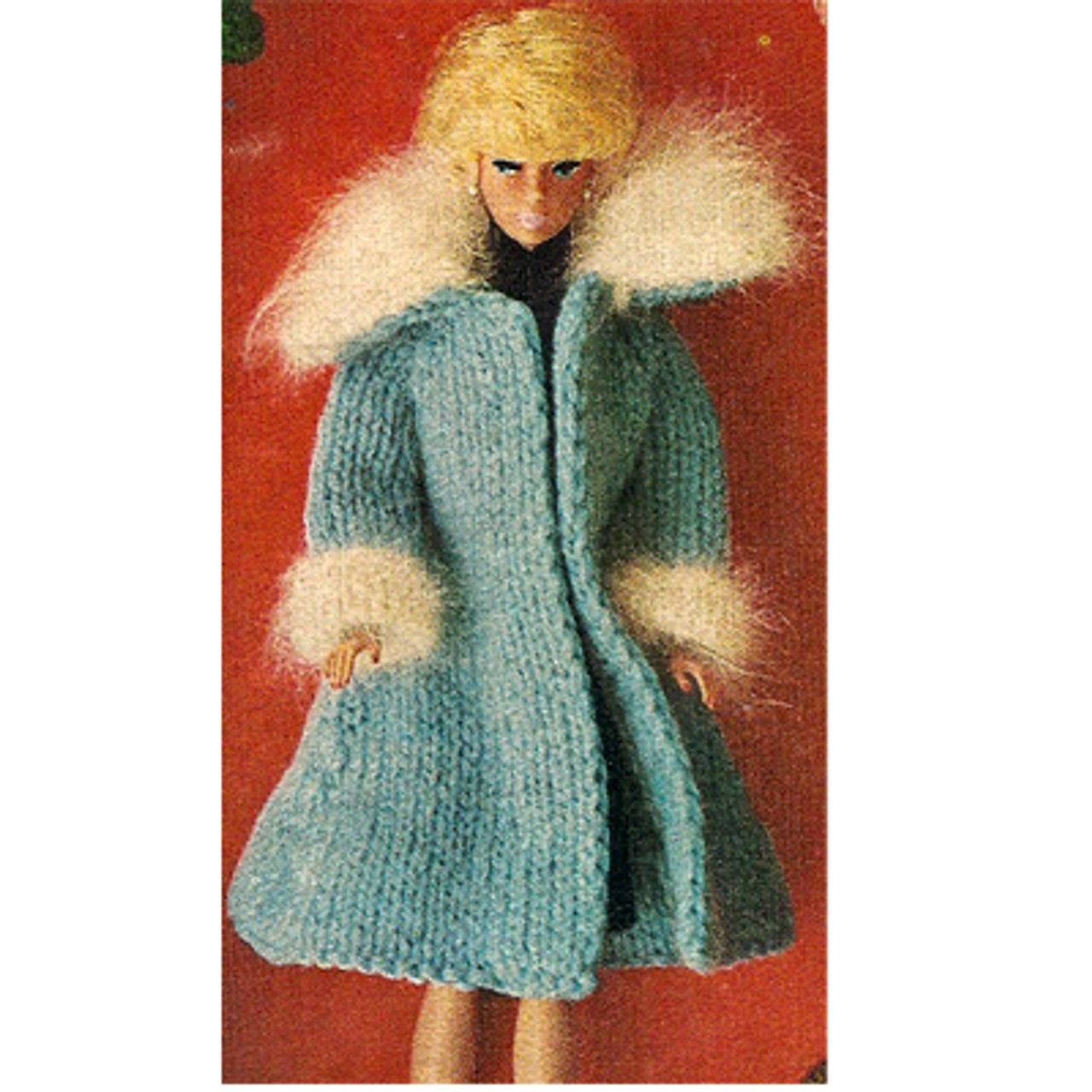 Fashion Doll Knit Coat Pattern