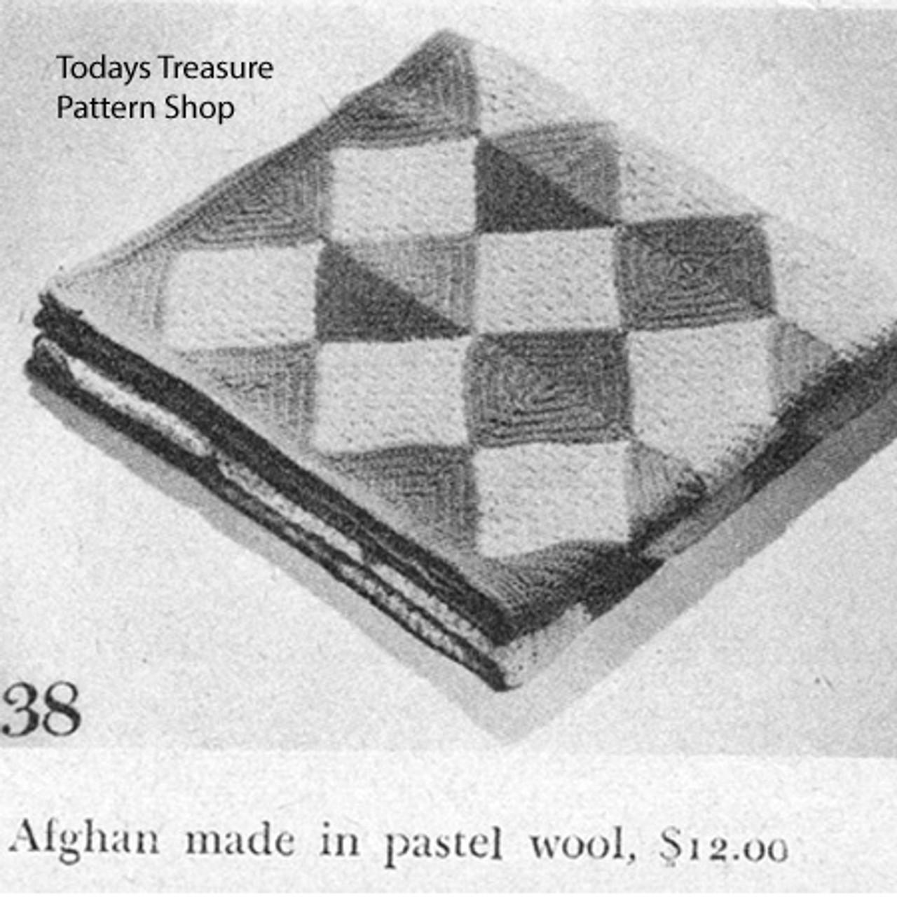 Harlequin Crochet Afghan Pattern