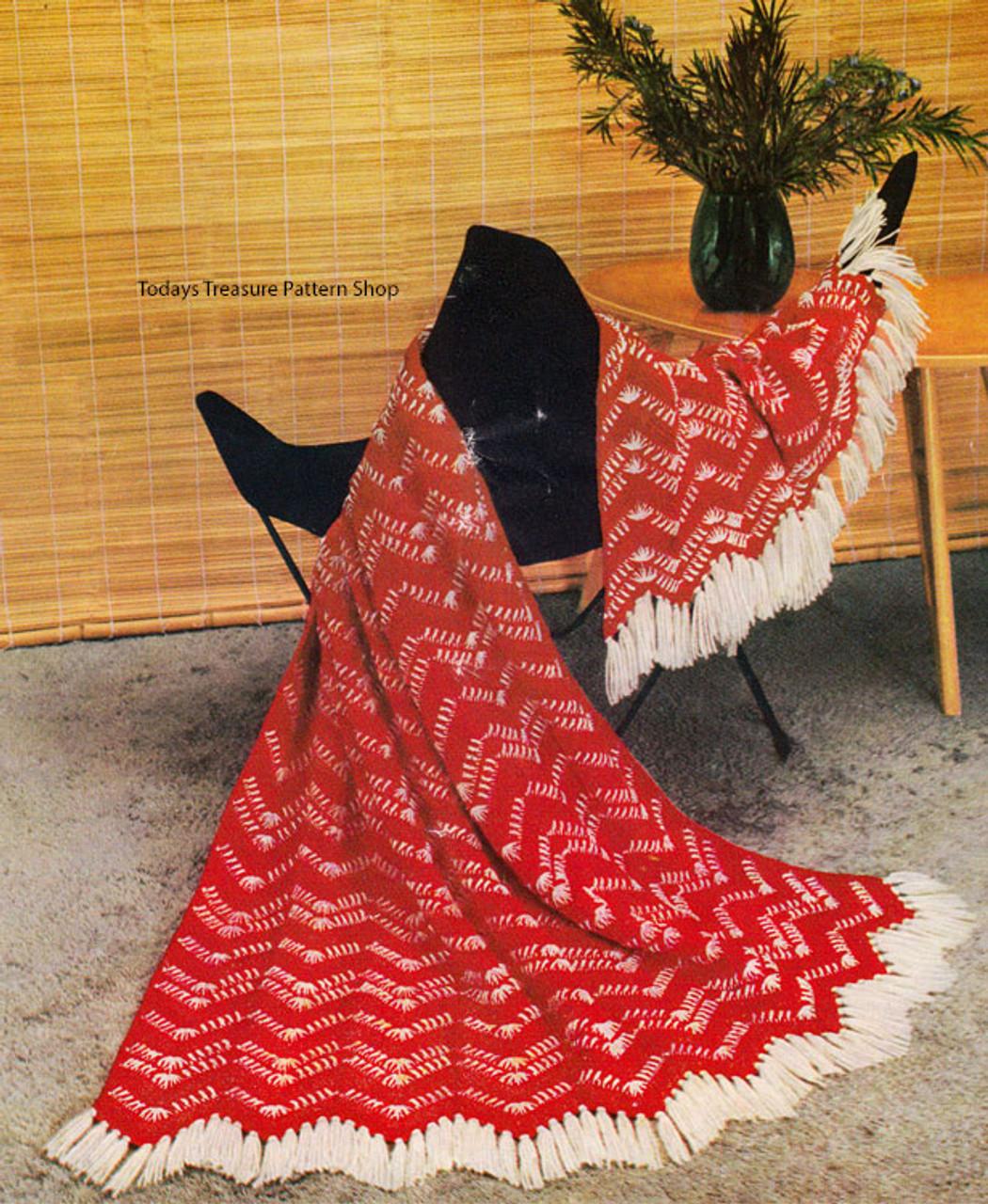 Vintage 1950's Crochet Pattern California Ranch