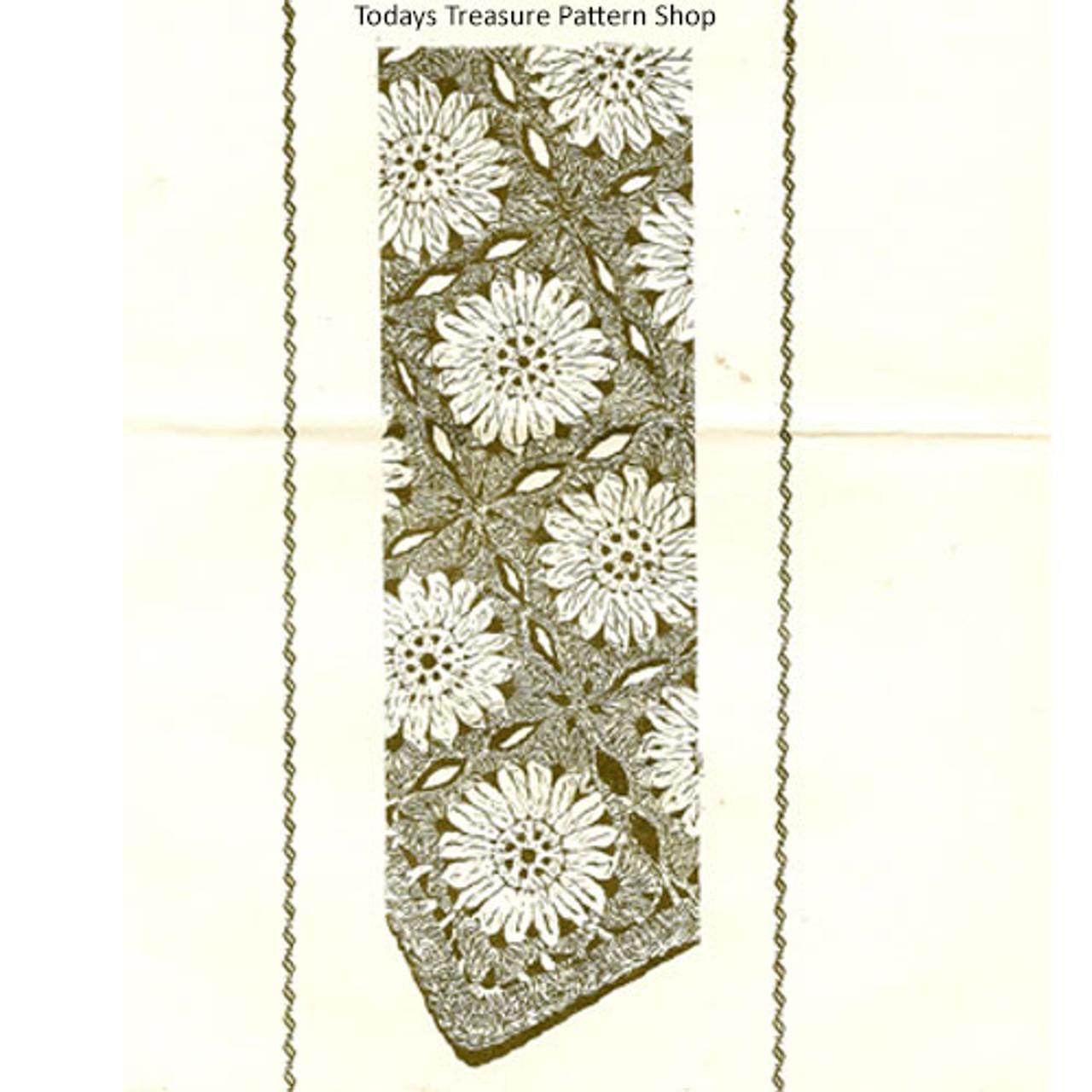 Mail Order 598, Sunflower Afghan Crochet pattern