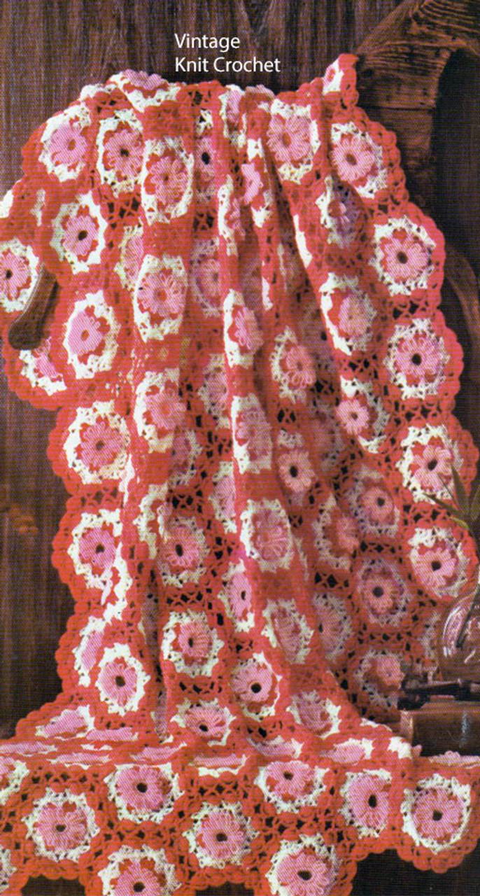 Crochet Loop Stitch Afghan Pattern No 742-17