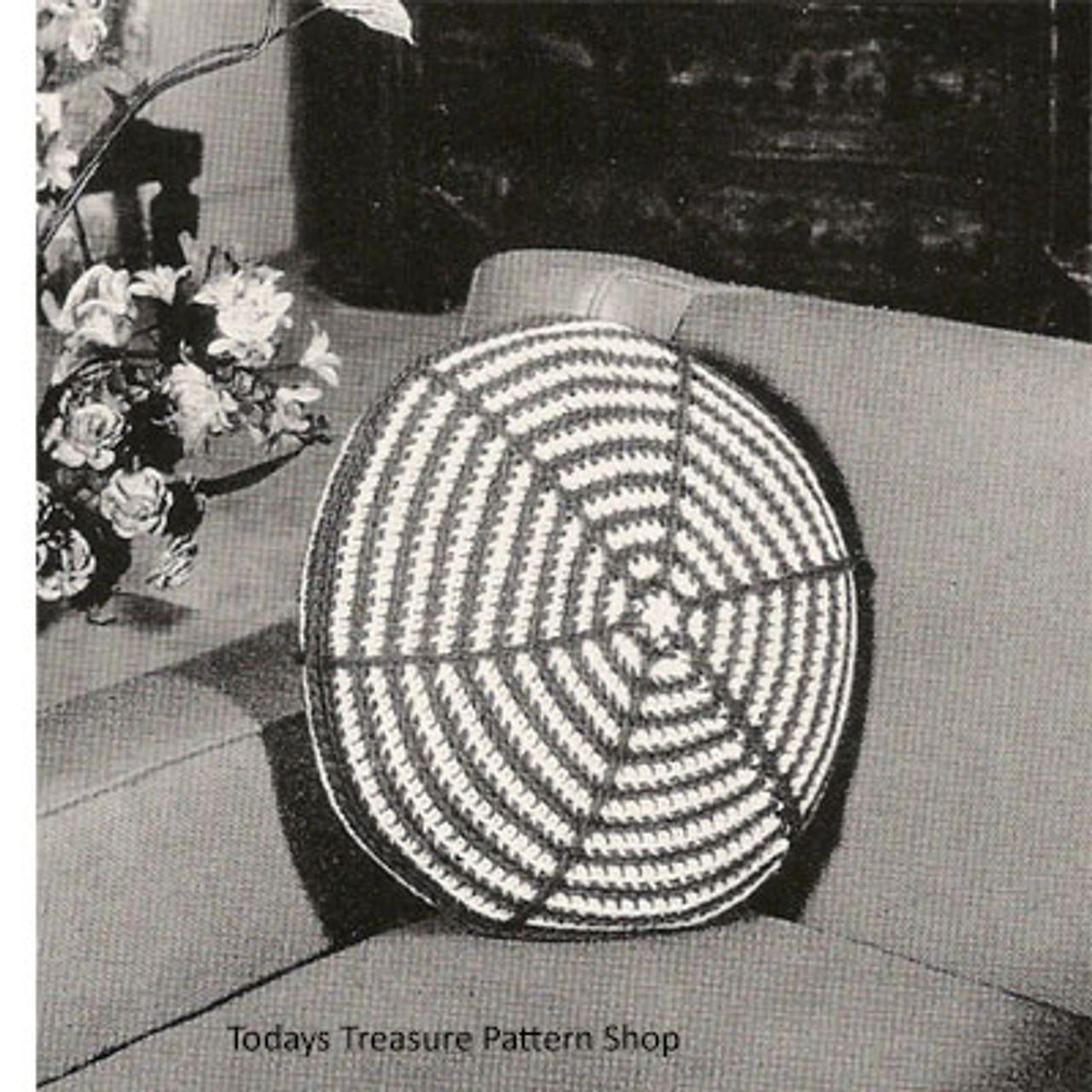 Crocheted Wagon Pillow Pattern