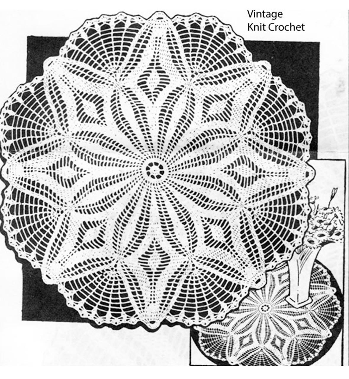 Peggy Roberts Crochet Doily pattern No R-2590