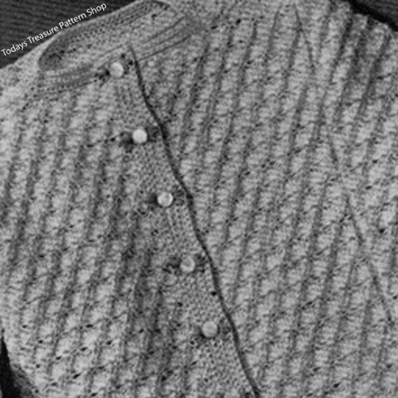 Little Girls Crocheted Cardigan Pattern