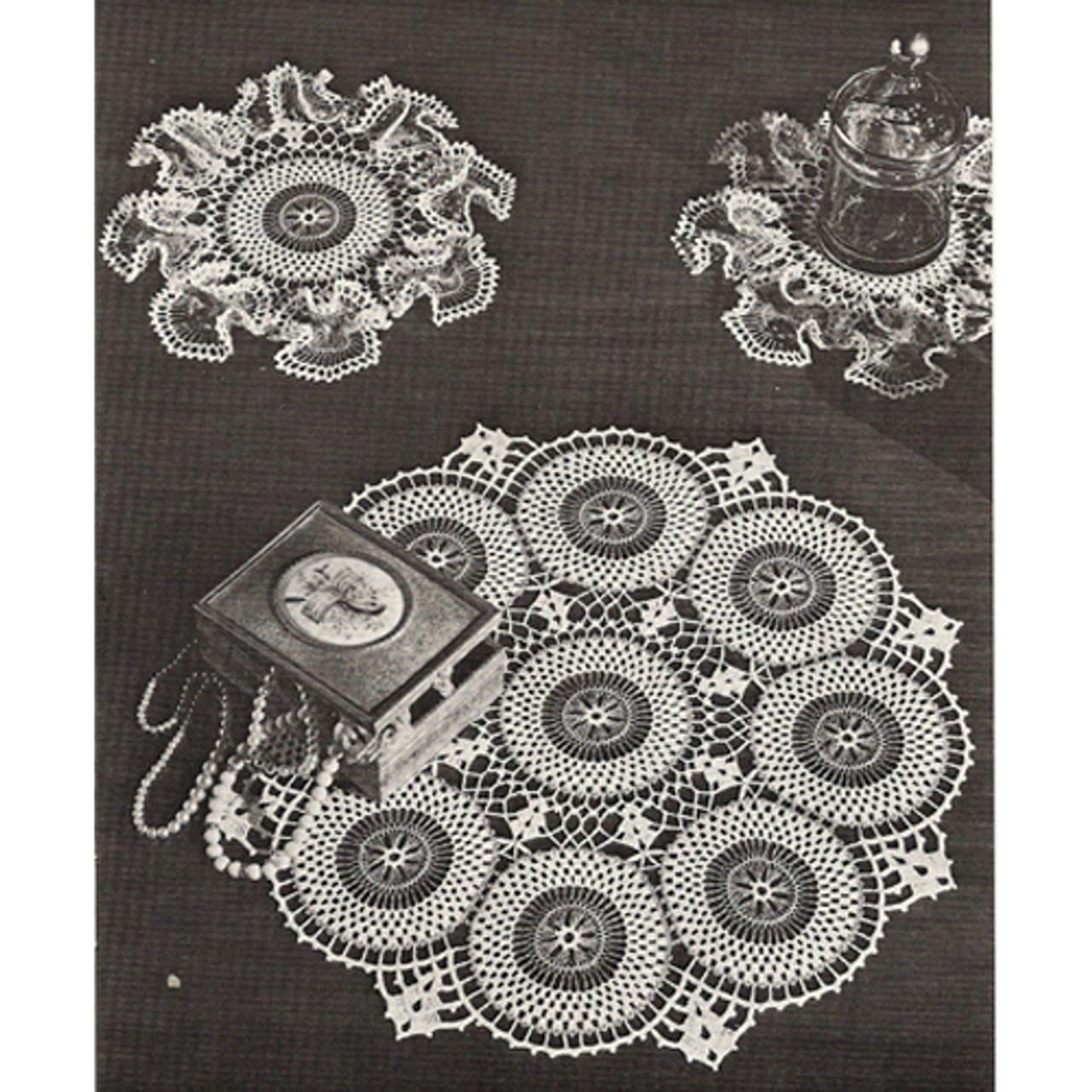 Circle of Circles Crochet Doily Pattern