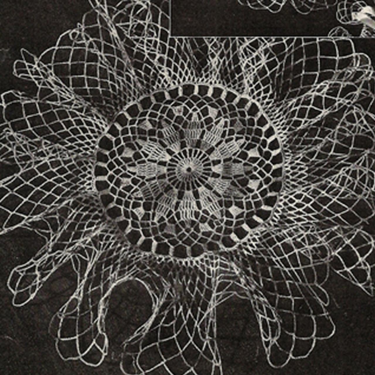 Lily Mills Small Ruffled Doily Crochet Pattern