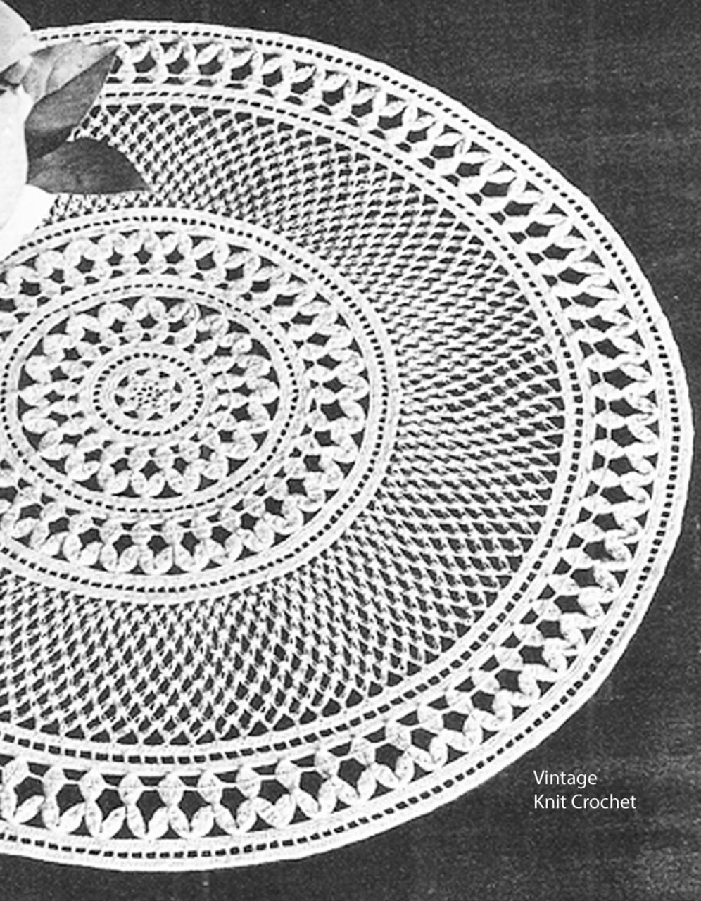 Vintage Enchantment Crochet Doily Pattern