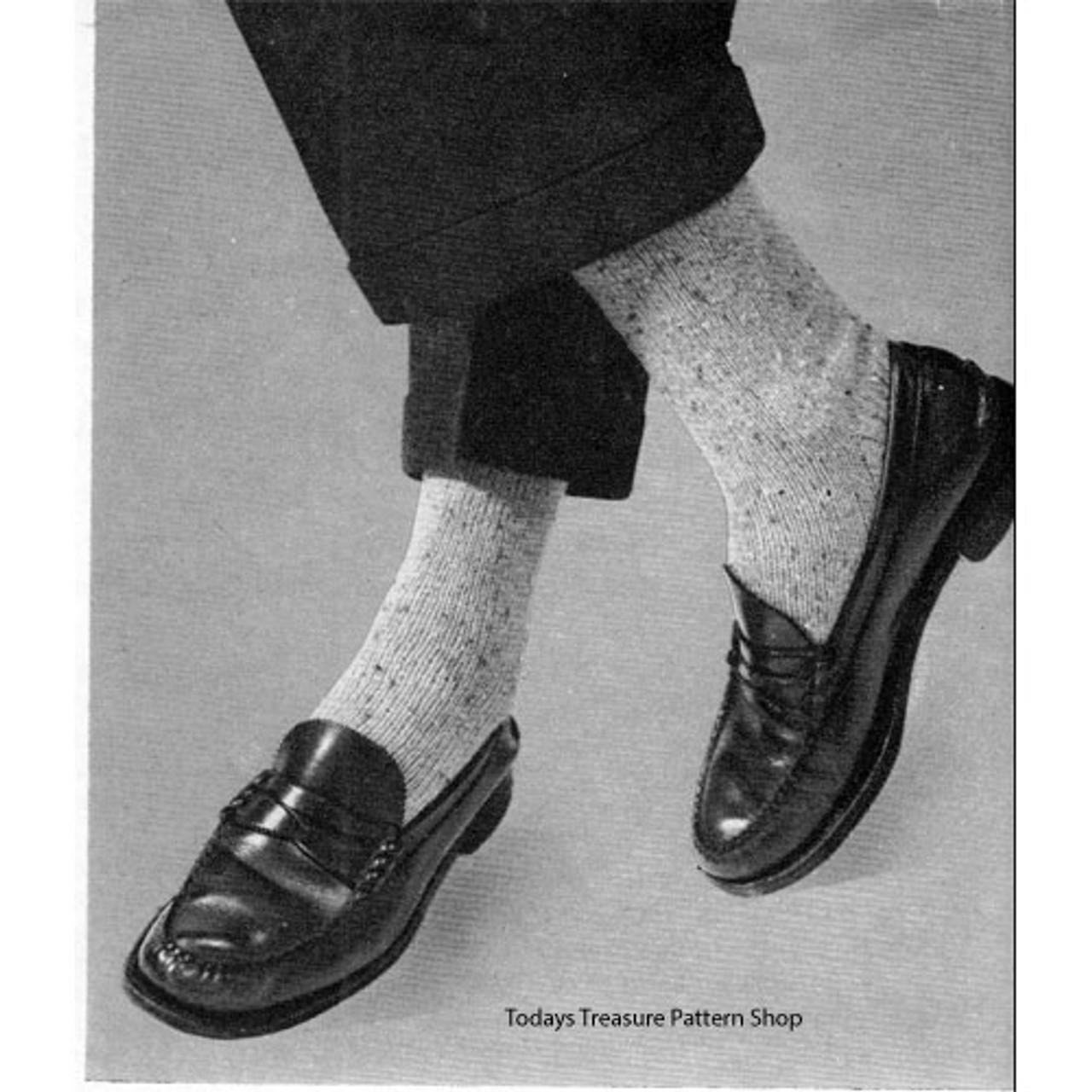 Knitting Pattern Mens Dress Socks
