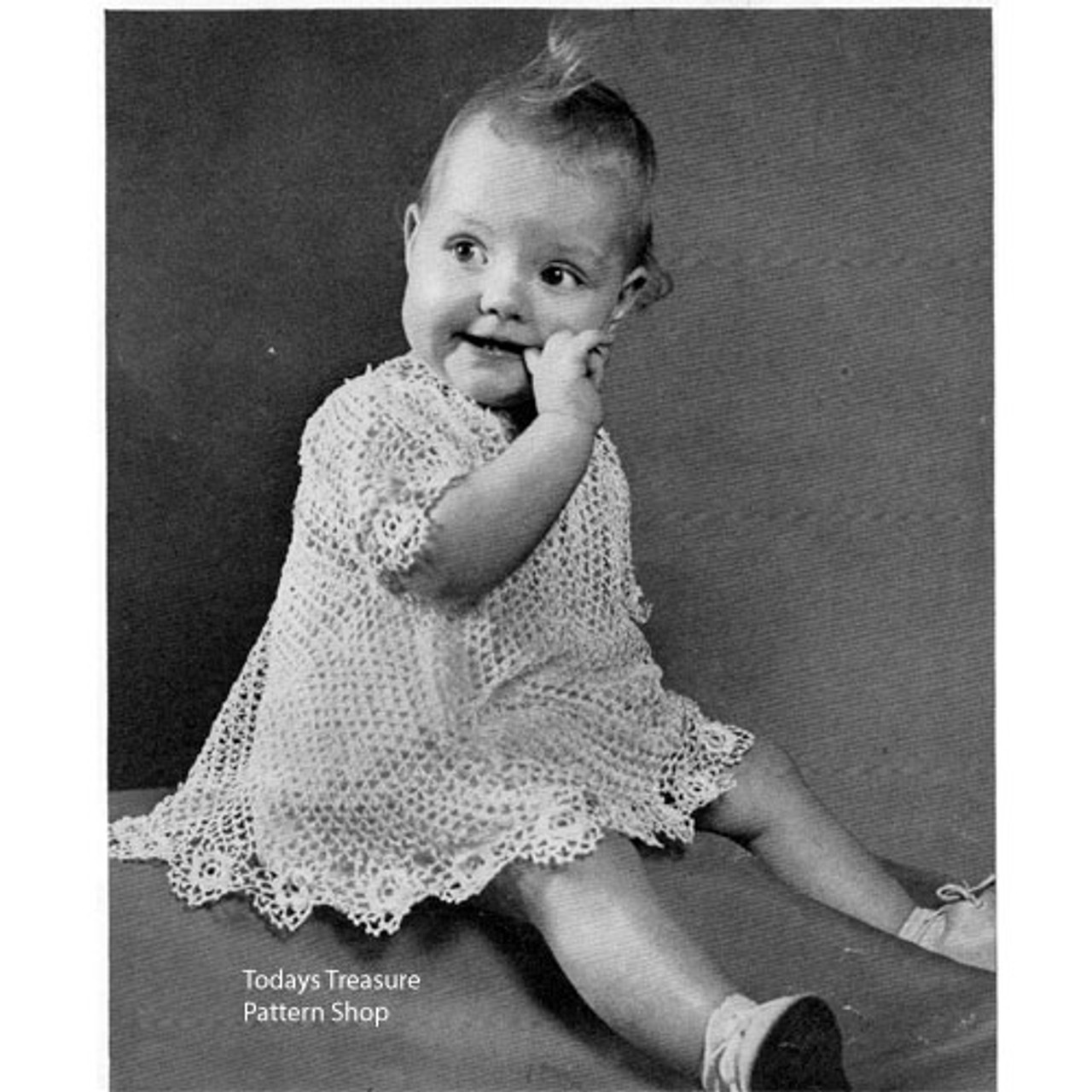 Old Fashioned Crochet Baby Dress Pattern