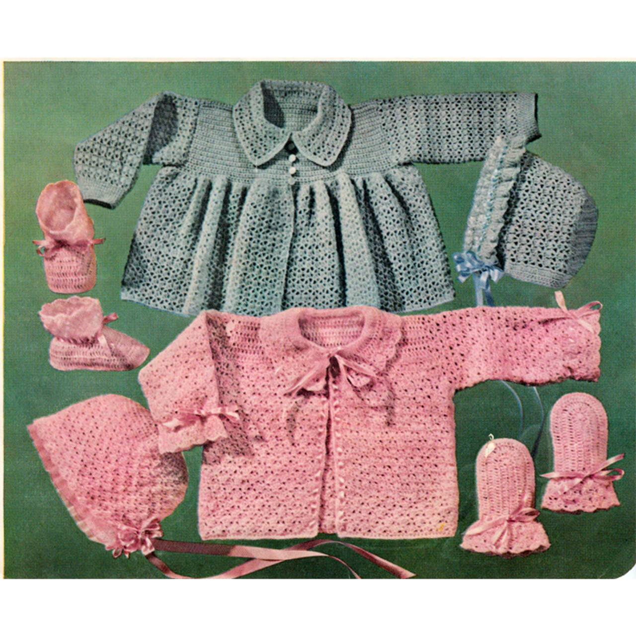 Baby Crocheted Layette Patterns