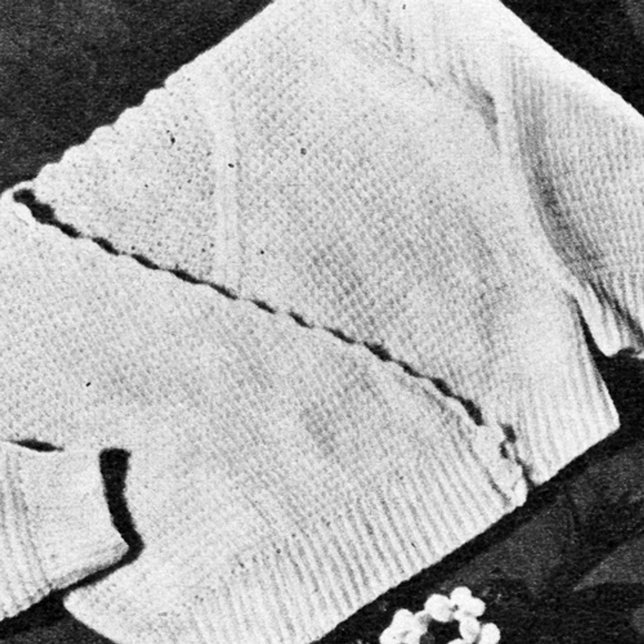 Baby Crocheted Cross-Over Sweater Pattern