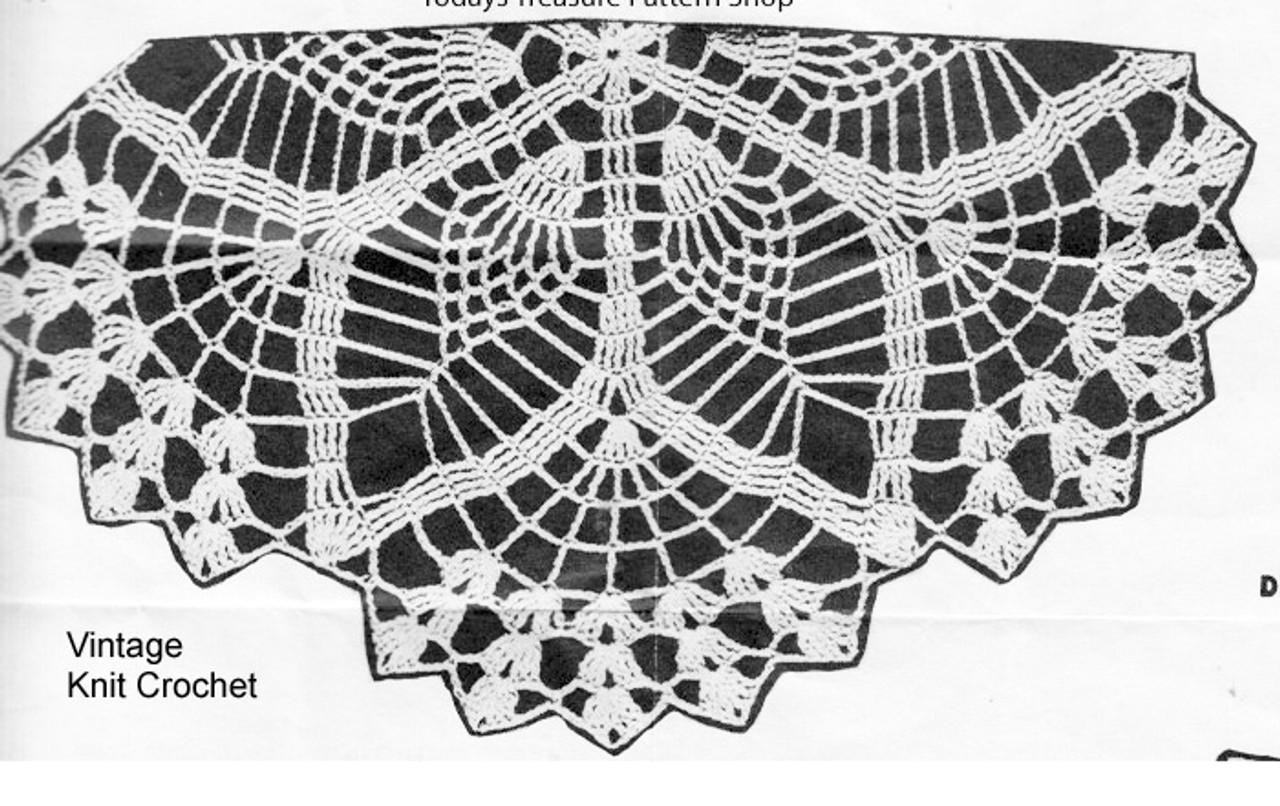 Alice Brooks 7019 Round Doily Illustration