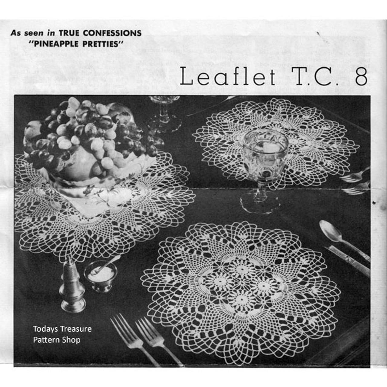 Vintage Crochet Runner and Mats Pattern