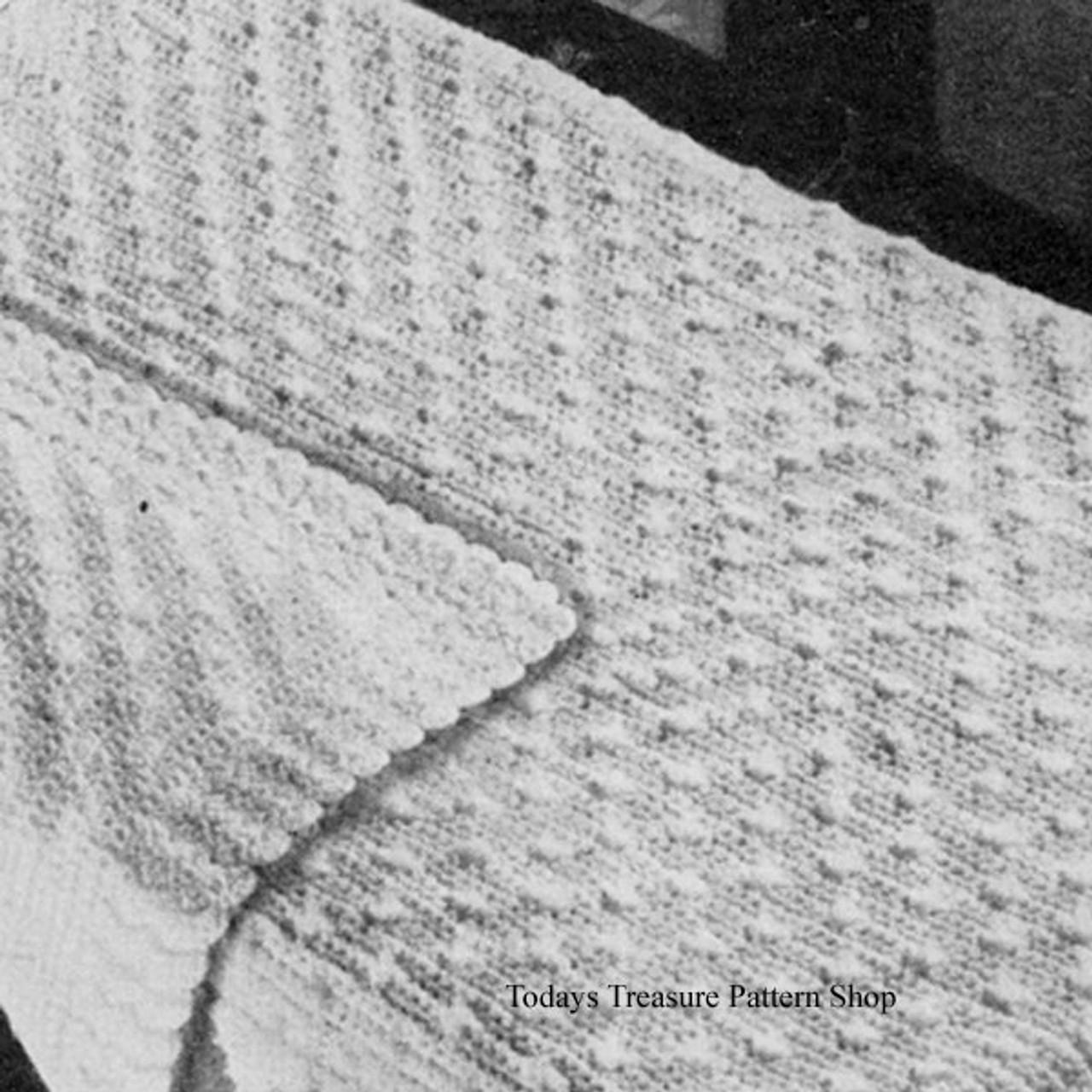 Star Stitch Crochet Baby Blanket