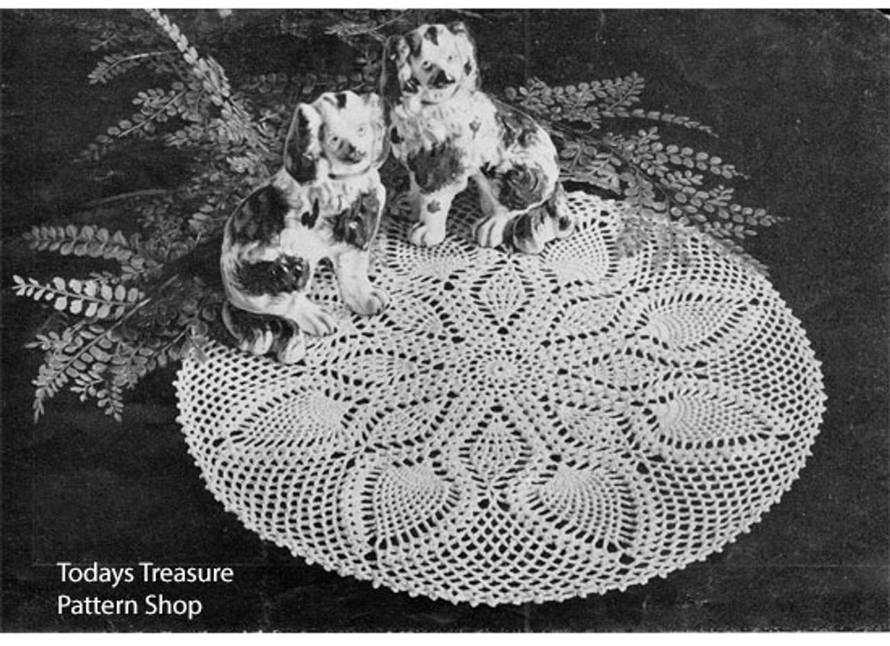 Vintage Chelsea Crocheted Doily pattern