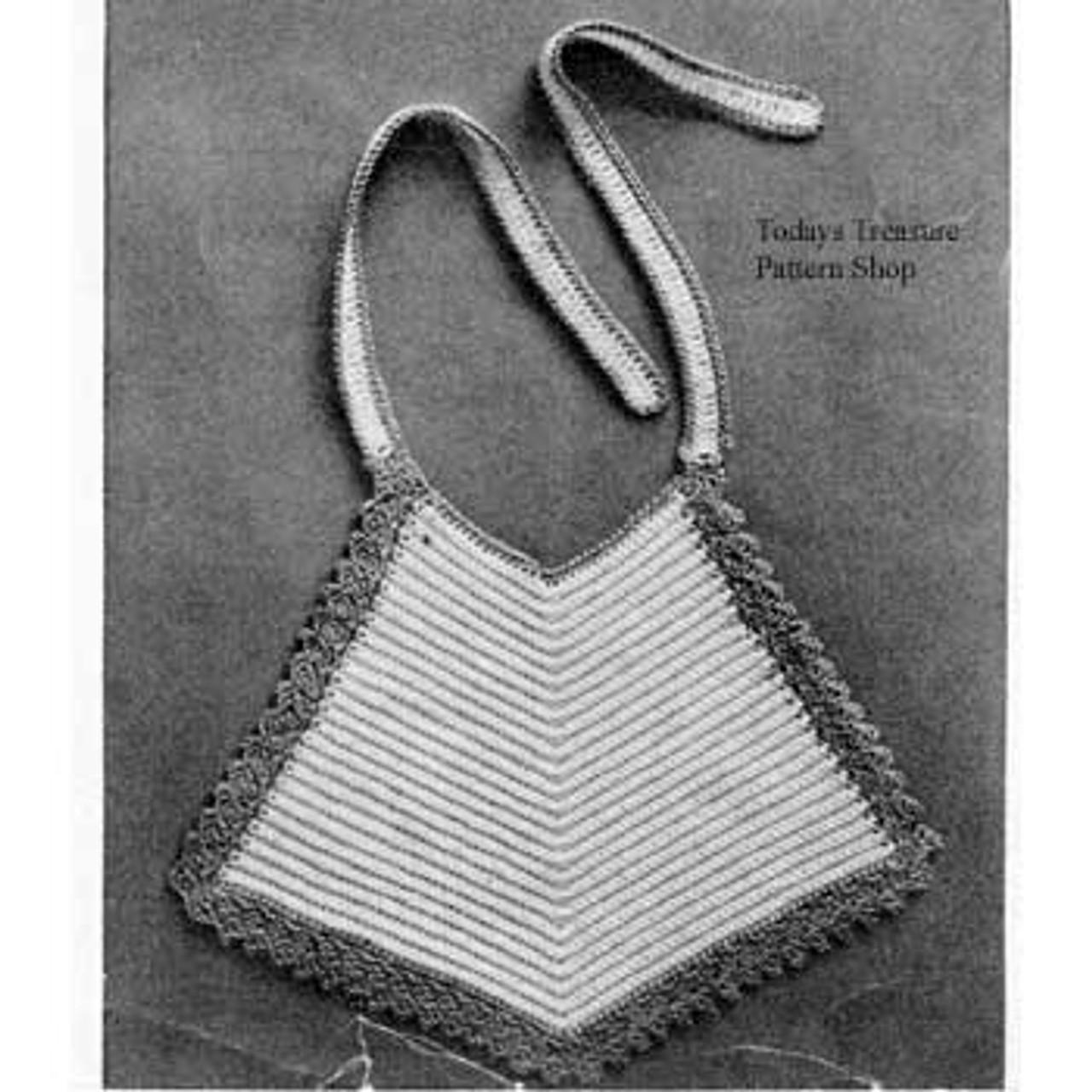 Triangle Crochet Baby Bib Pattern