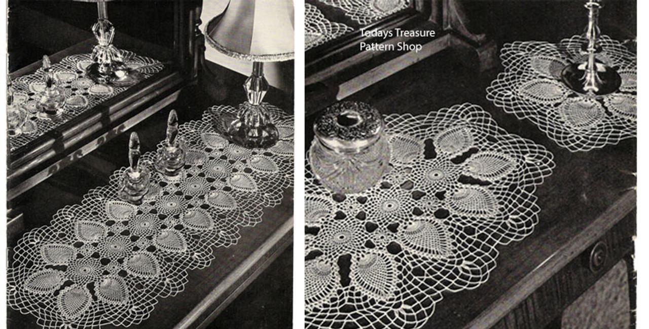 Pineapple Crochet Runners Pattern